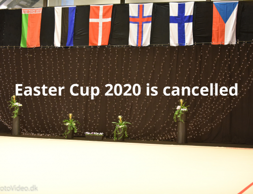 Easter Cup 2020 is cancelled